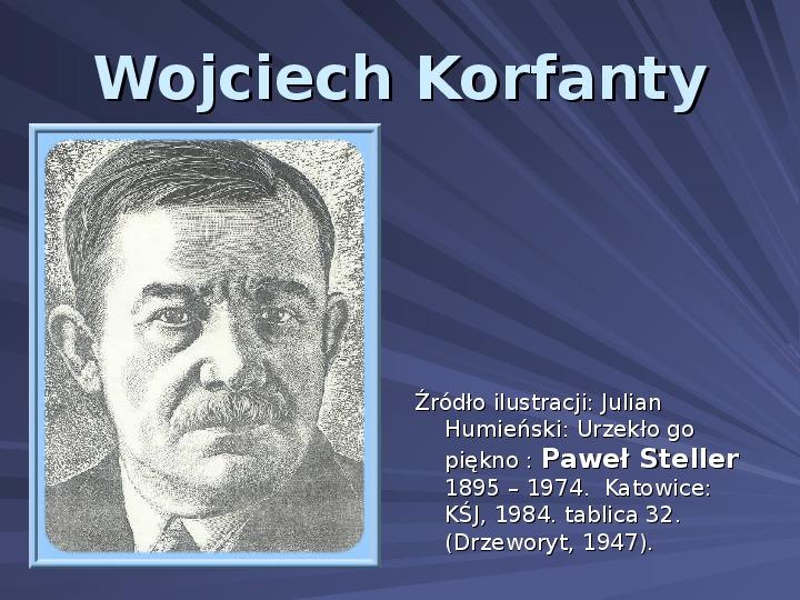 Wojciech Korfanty - Slajd 1