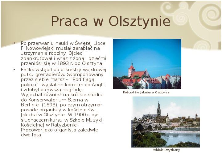 Feliks Nowowiejski - Slajd 4