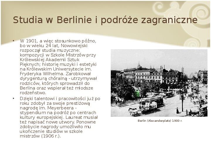 Feliks Nowowiejski - Slajd 5