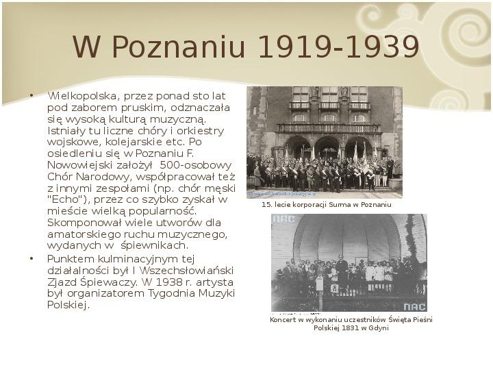 Feliks Nowowiejski - Slajd 10
