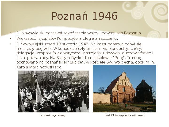 Feliks Nowowiejski - Slajd 14