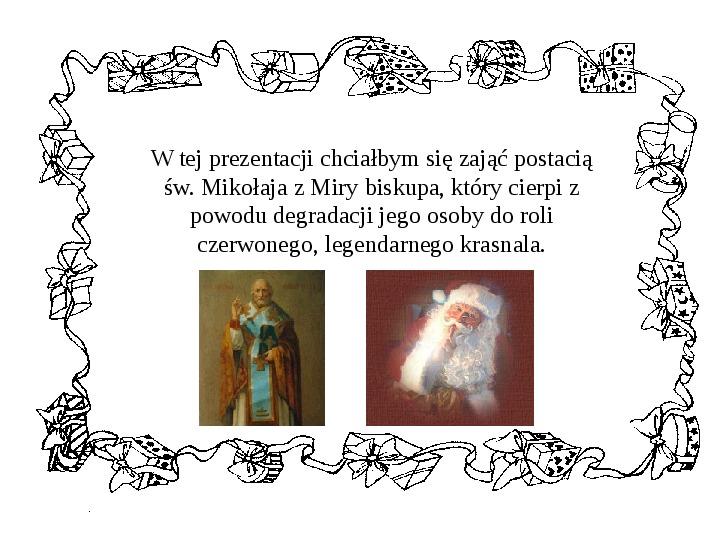 Historia Św. Mikołaja - Slajd 4