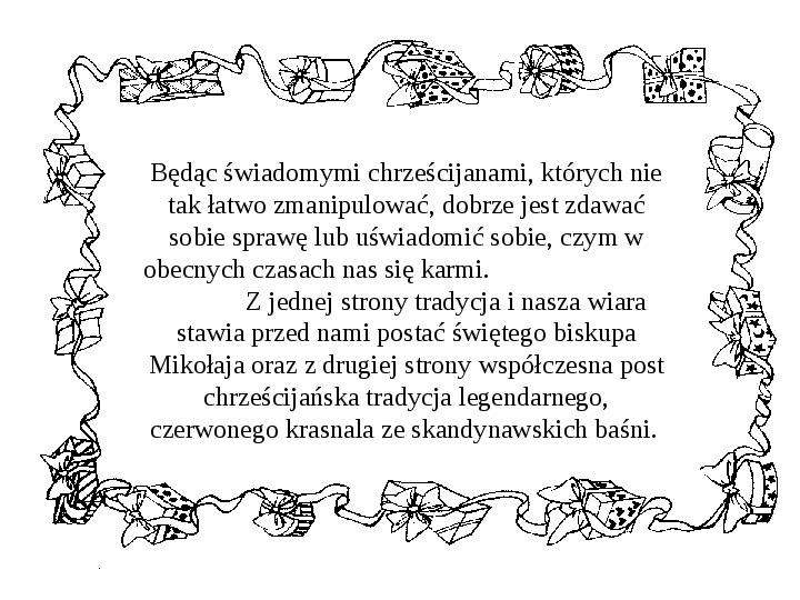 Historia Św. Mikołaja - Slajd 6