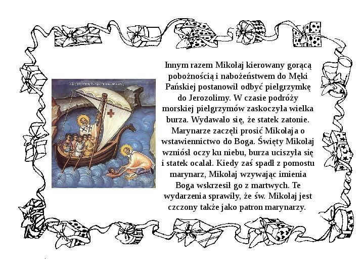 Historia Św. Mikołaja - Slajd 12