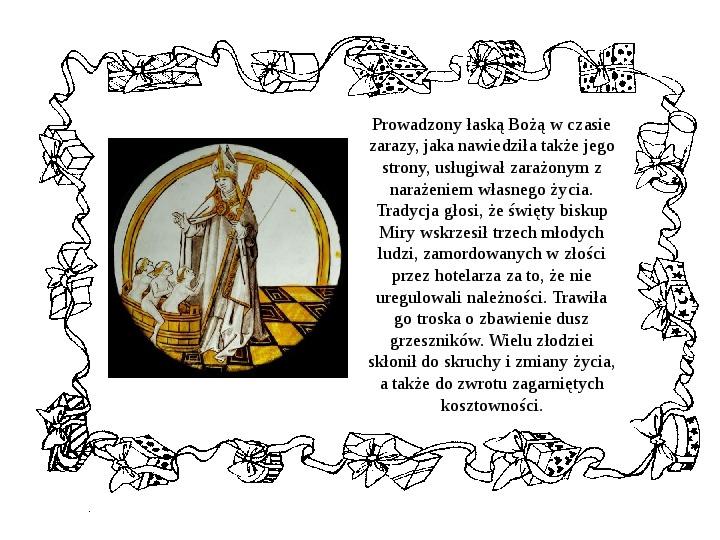 Historia Św. Mikołaja - Slajd 13