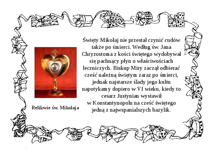 Historia Św. Mikołaja - Slajd 15