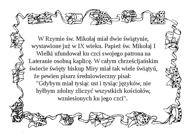 Historia Św. Mikołaja - Slajd 17