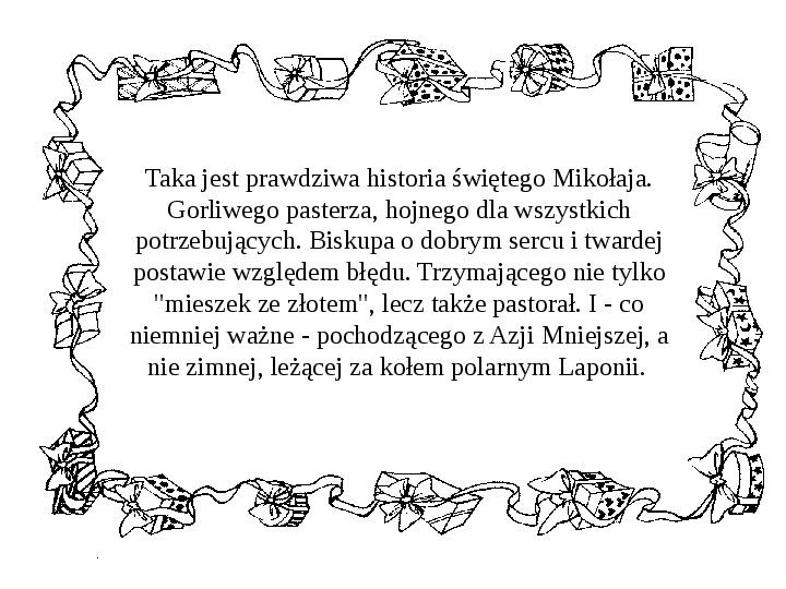 Historia Św. Mikołaja - Slajd 22
