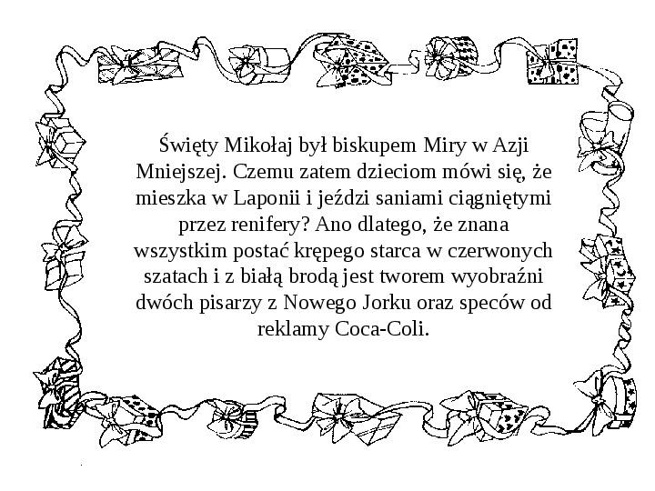 Historia Św. Mikołaja - Slajd 23