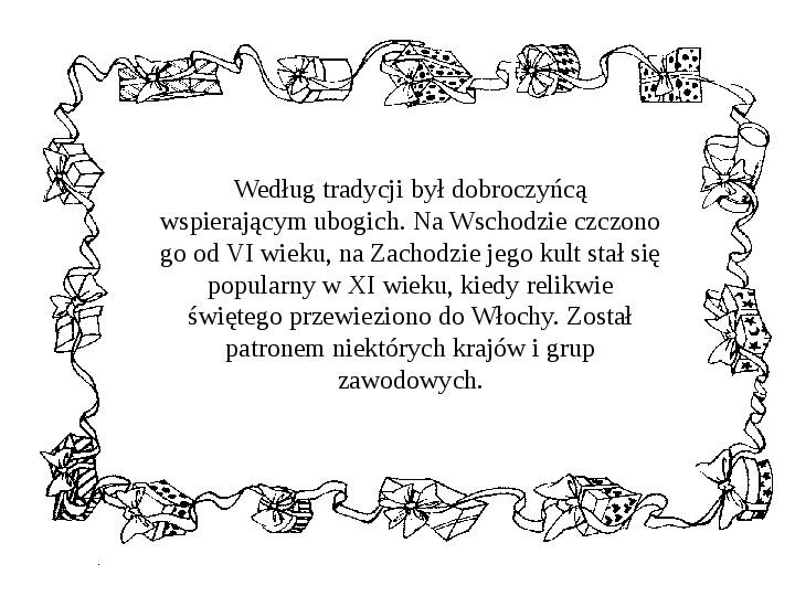 Historia Św. Mikołaja - Slajd 24