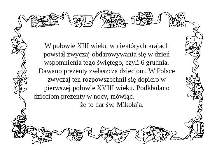 Historia Św. Mikołaja - Slajd 25