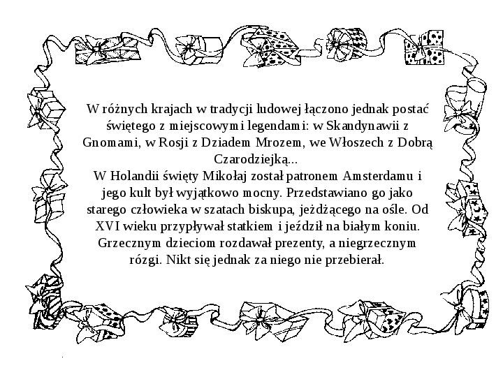 Historia Św. Mikołaja - Slajd 26