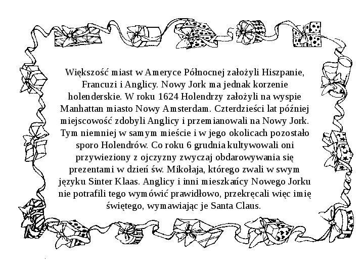 Historia Św. Mikołaja - Slajd 28