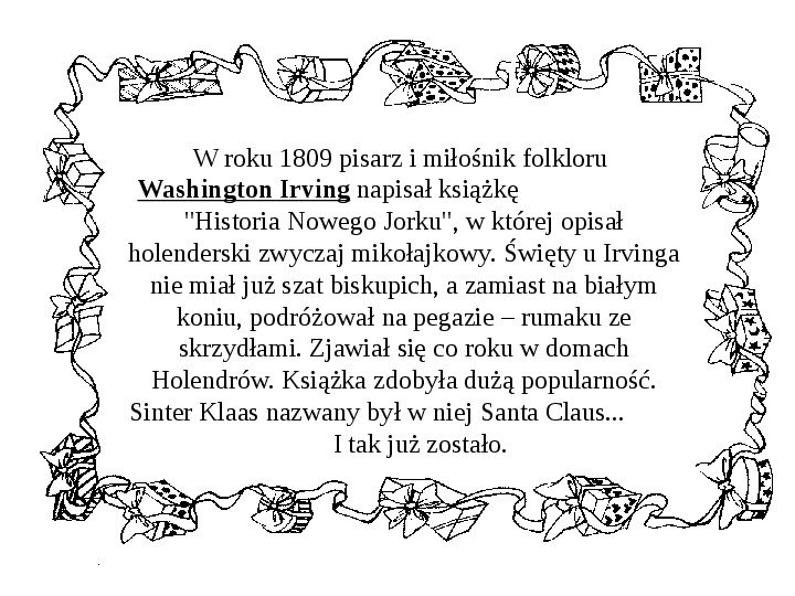 Historia Św. Mikołaja - Slajd 29