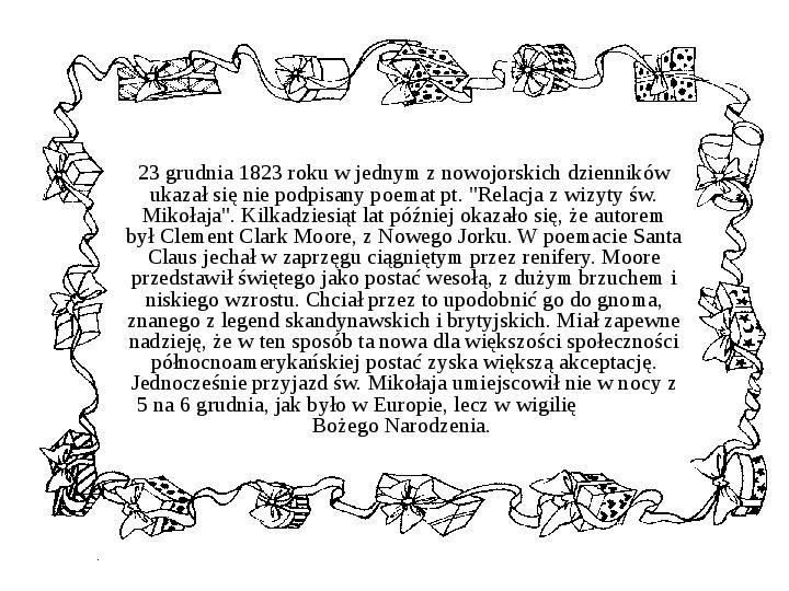 Historia Św. Mikołaja - Slajd 32