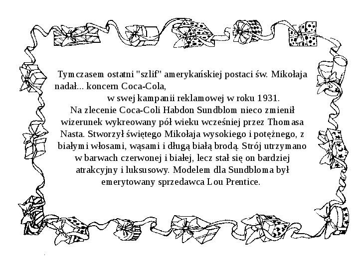 Historia Św. Mikołaja - Slajd 38