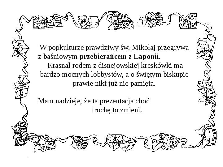 Historia Św. Mikołaja - Slajd 42