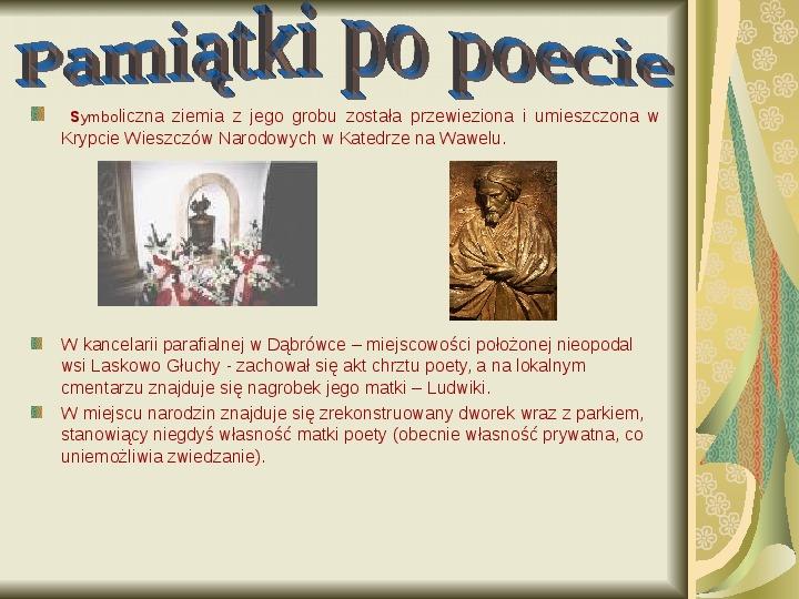 Cyprian Kamil Norwid - Slajd 12