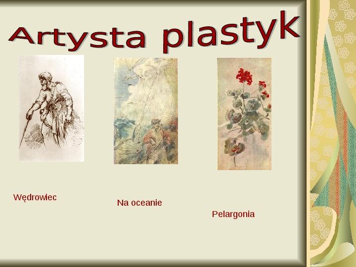 Cyprian Kamil Norwid - Slajd 13