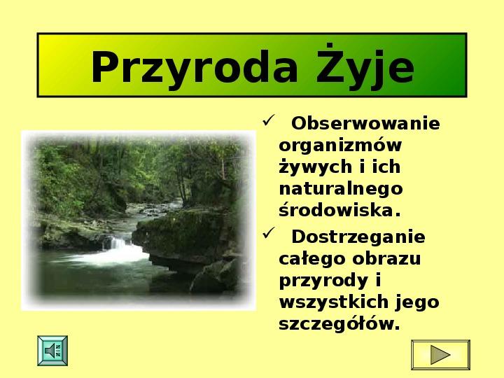 Ochrona przyrody w Polsce oraz zagrożenia związen z jej niszczeniem - Slajd 1