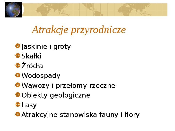 Atrakcje turystyczne Polski - Slajd 2