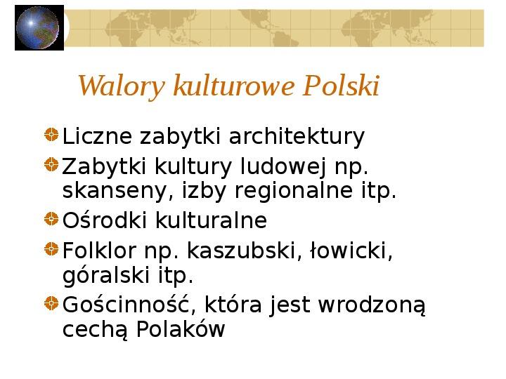 Atrakcje turystyczne Polski - Slajd 3