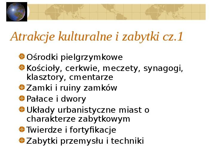 Atrakcje turystyczne Polski - Slajd 4