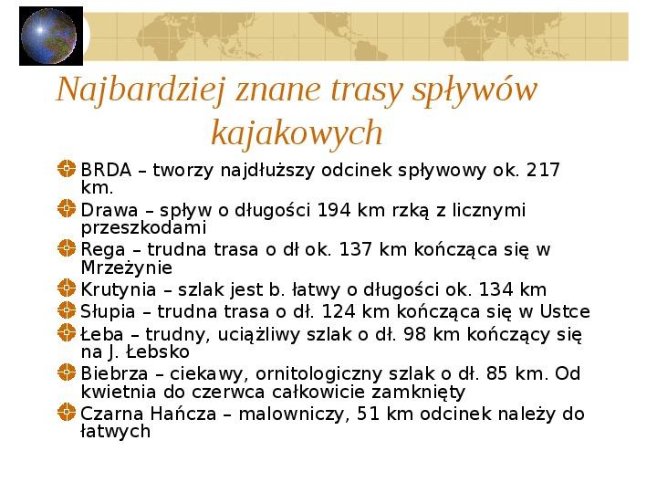 Atrakcje turystyczne Polski - Slajd 12