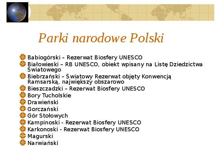 Atrakcje turystyczne Polski - Slajd 30