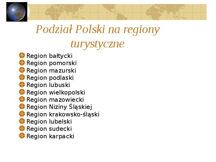 Atrakcje turystyczne Polski - Slajd 32