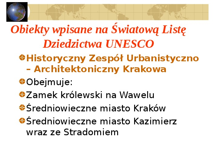 Atrakcje turystyczne Polski - Slajd 33