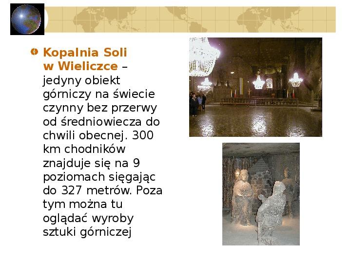 Atrakcje turystyczne Polski - Slajd 35