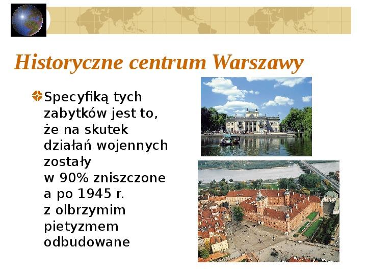 Atrakcje turystyczne Polski - Slajd 37