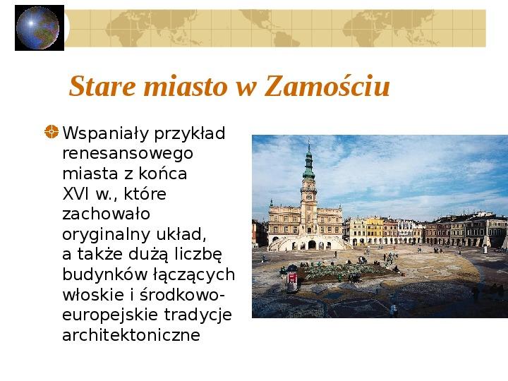 Atrakcje turystyczne Polski - Slajd 38