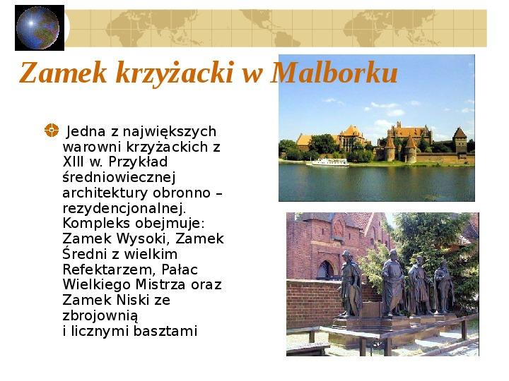 Atrakcje turystyczne Polski - Slajd 39