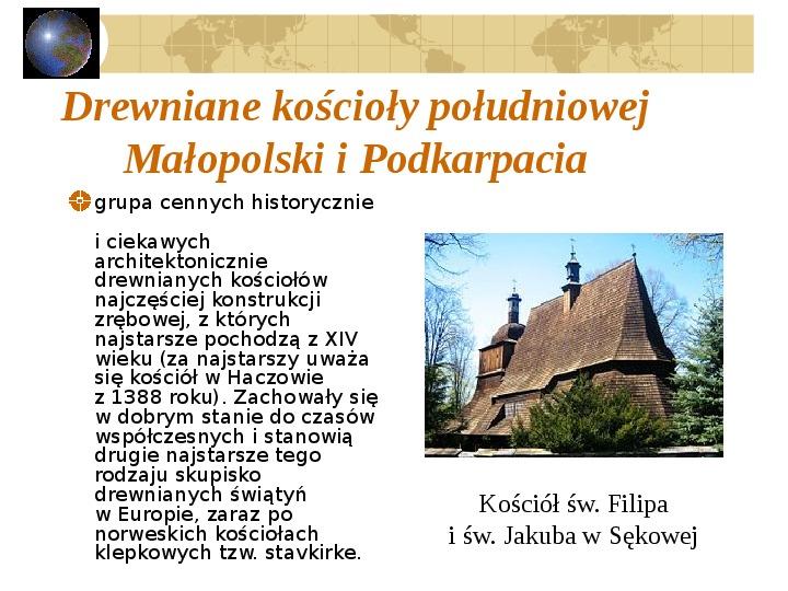 Atrakcje turystyczne Polski - Slajd 42