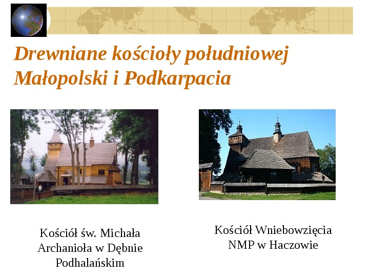 Atrakcje turystyczne Polski - Slajd 44