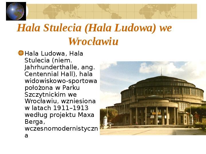 Atrakcje turystyczne Polski - Slajd 47