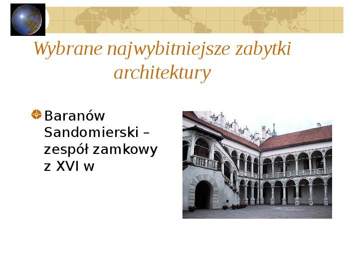 Atrakcje turystyczne Polski - Slajd 49