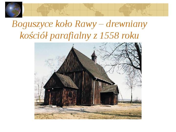 Atrakcje turystyczne Polski - Slajd 50