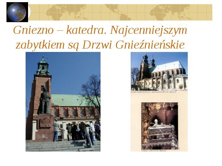 Atrakcje turystyczne Polski - Slajd 52
