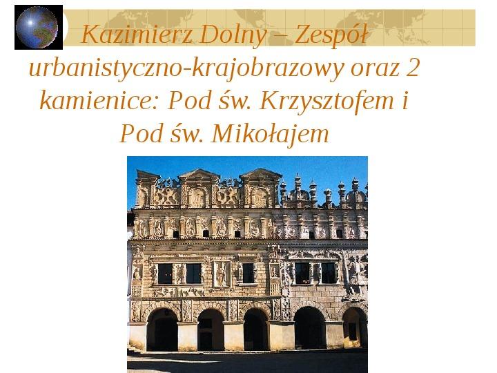 Atrakcje turystyczne Polski - Slajd 53