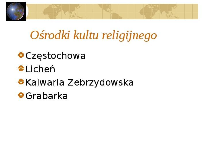 Atrakcje turystyczne Polski - Slajd 54