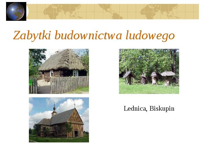 Atrakcje turystyczne Polski - Slajd 59