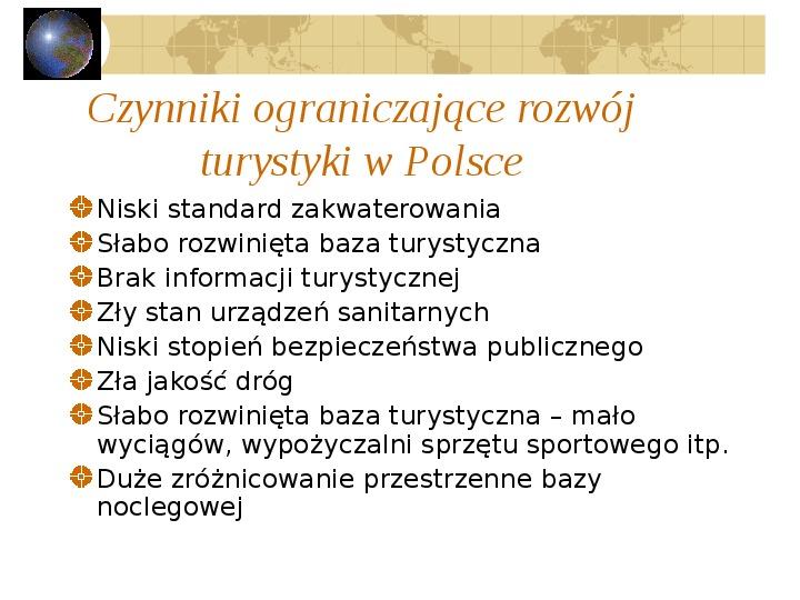 Atrakcje turystyczne Polski - Slajd 63