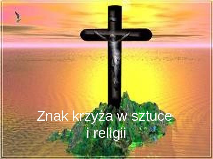 Krzyże i monogramy - Slajd 0