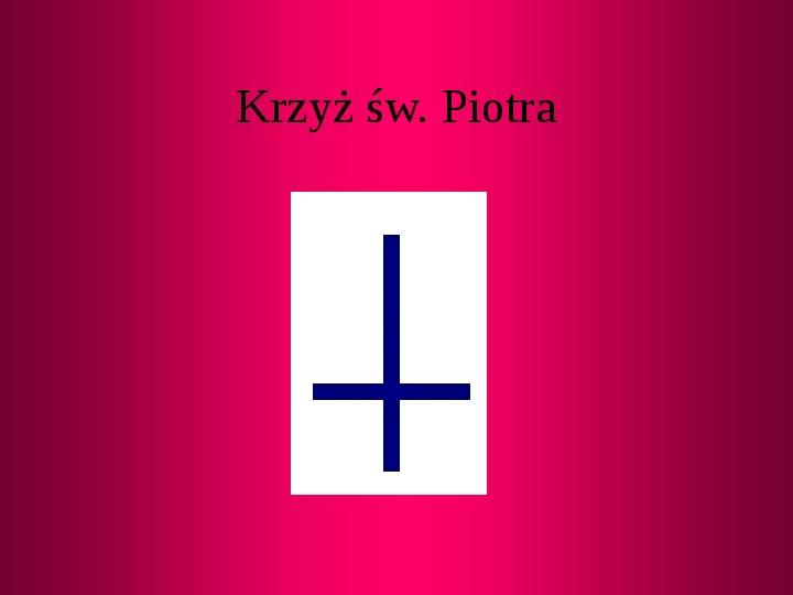 Krzyże i monogramy - Slajd 9