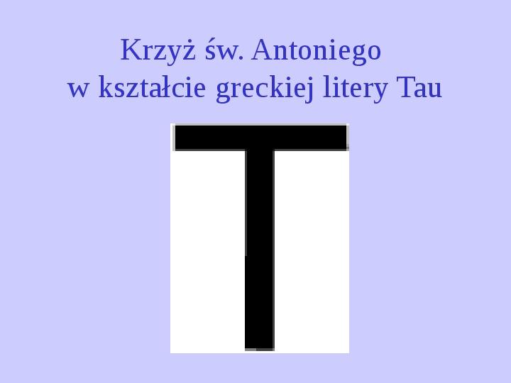Krzyże i monogramy - Slajd 13