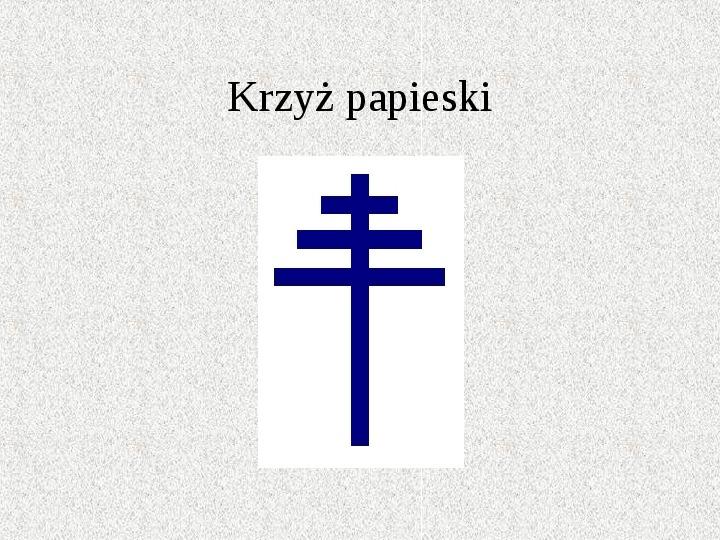 Krzyże i monogramy - Slajd 15