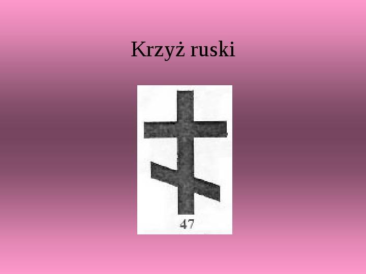 Krzyże i monogramy - Slajd 19